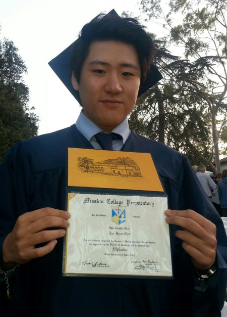 Jae's graduation photo