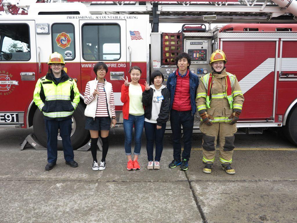 Japanese Exchange Students Visit