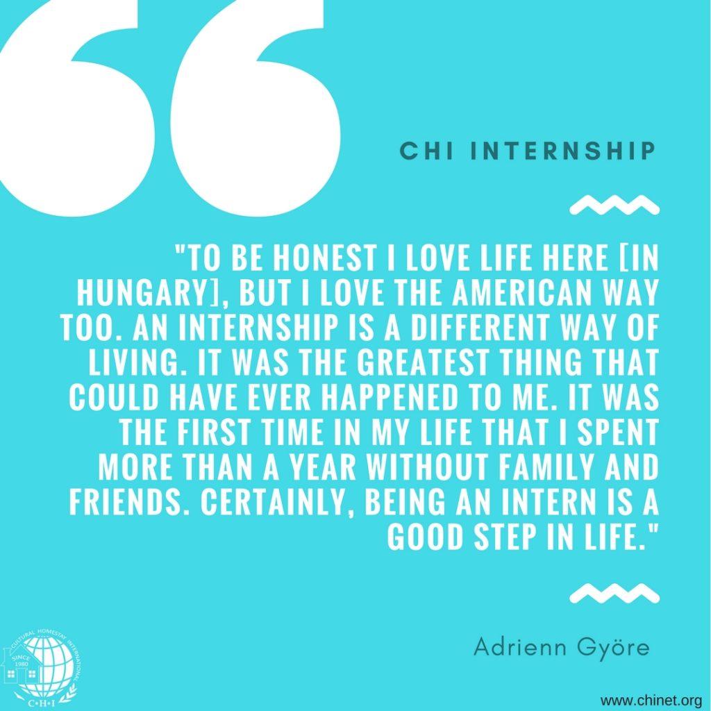 CHI Internship