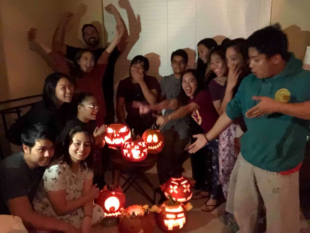 Interns Carve Pumpkins for the First Time 2