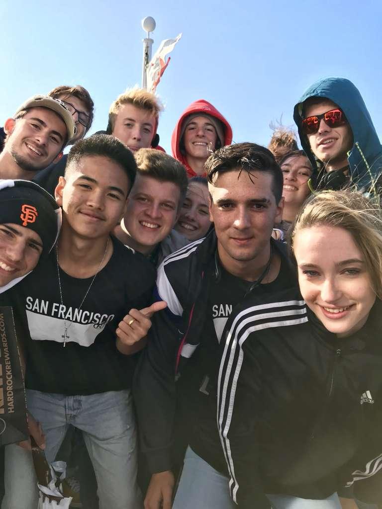 Exchange Students Tour San Francisco 5