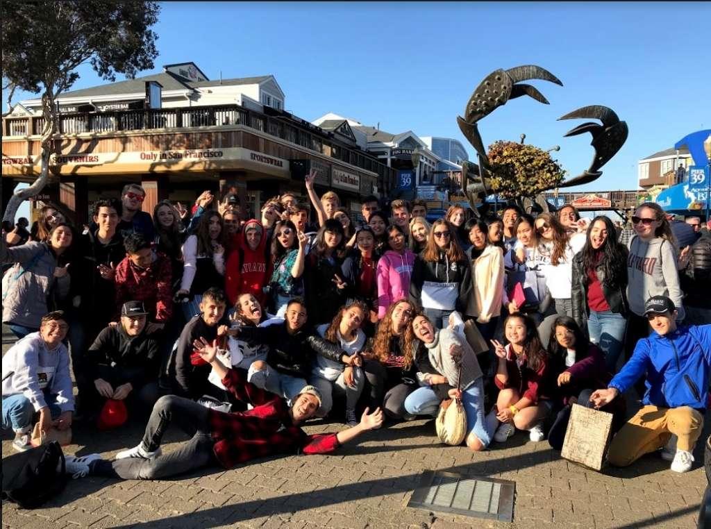 Exchange Students Tour San Francisco 10