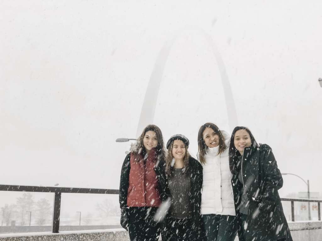 Snow in St. Louis 3