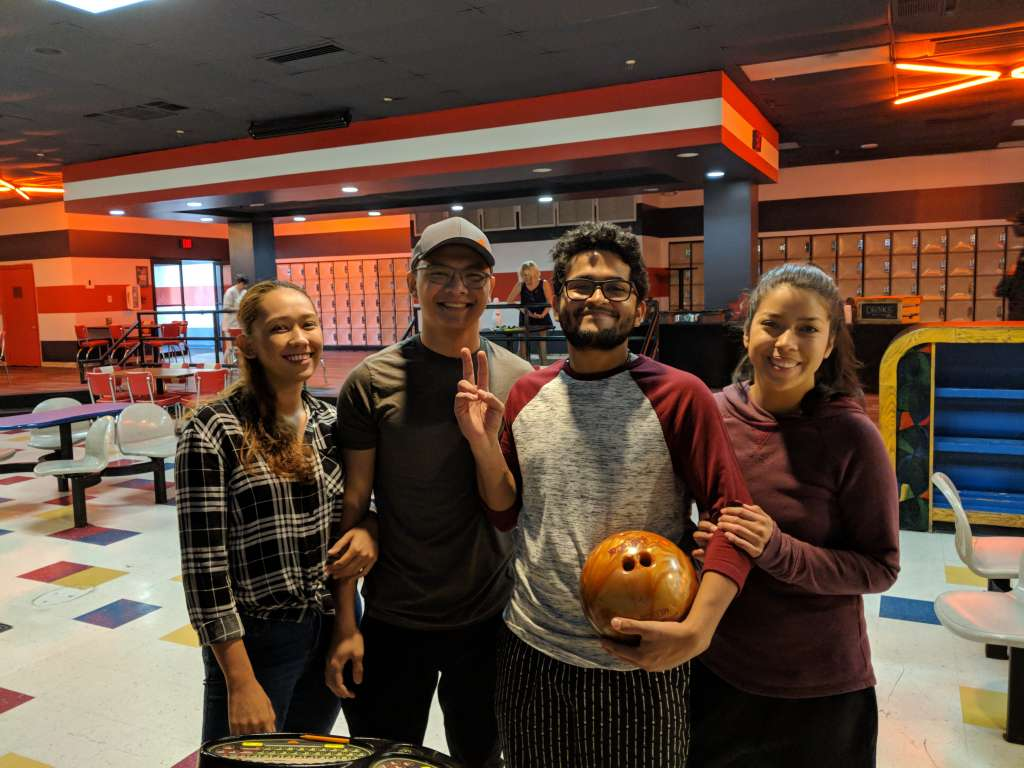 Pizza and Bowling Party in Florida 1