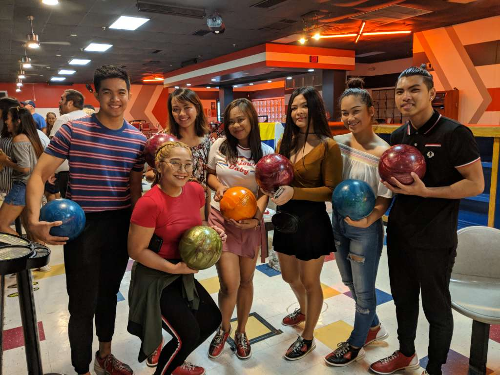 Pizza and Bowling Party in Florida 3