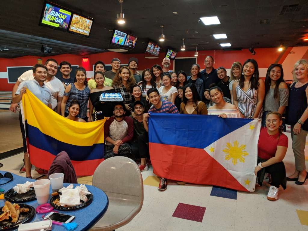 Pizza and Bowling Party in Florida 5