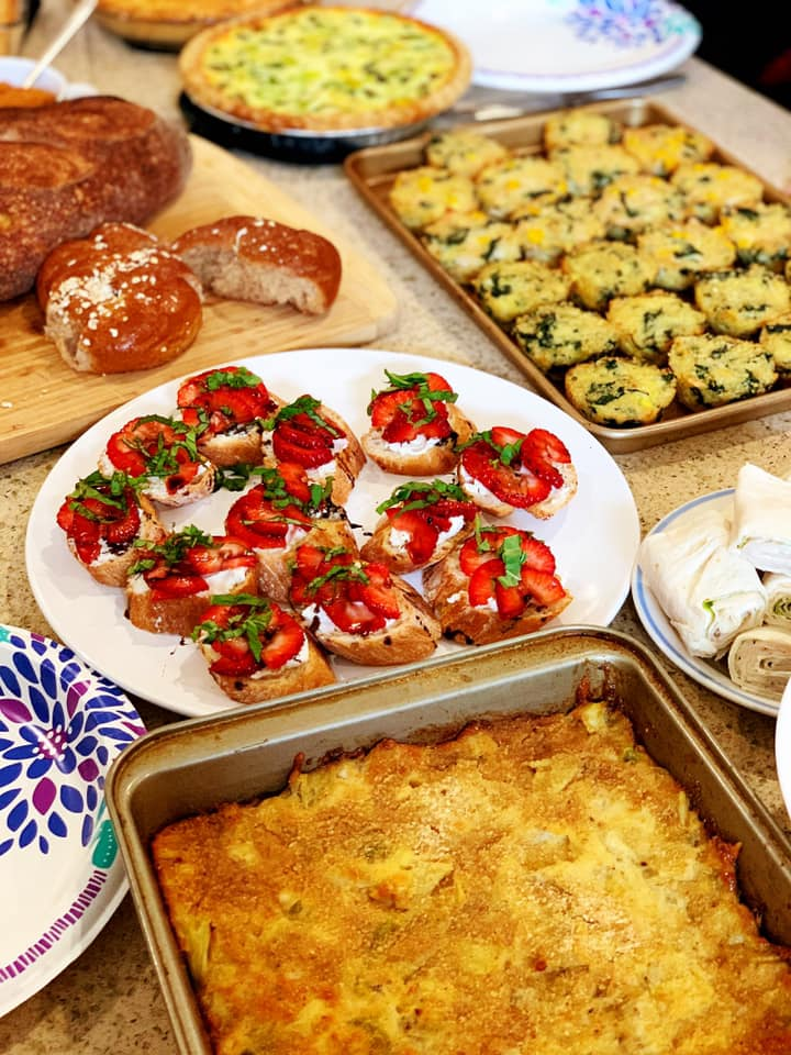 Spring Dishes from CHI Staff 3