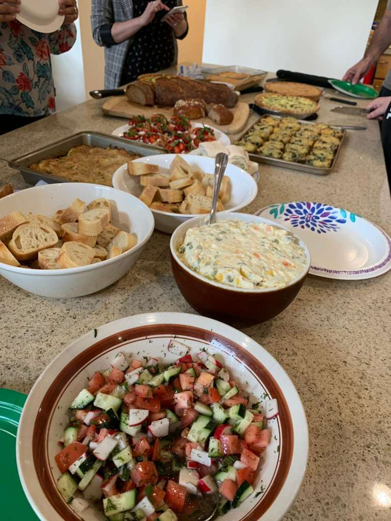 Spring Dishes from CHI Staff 2
