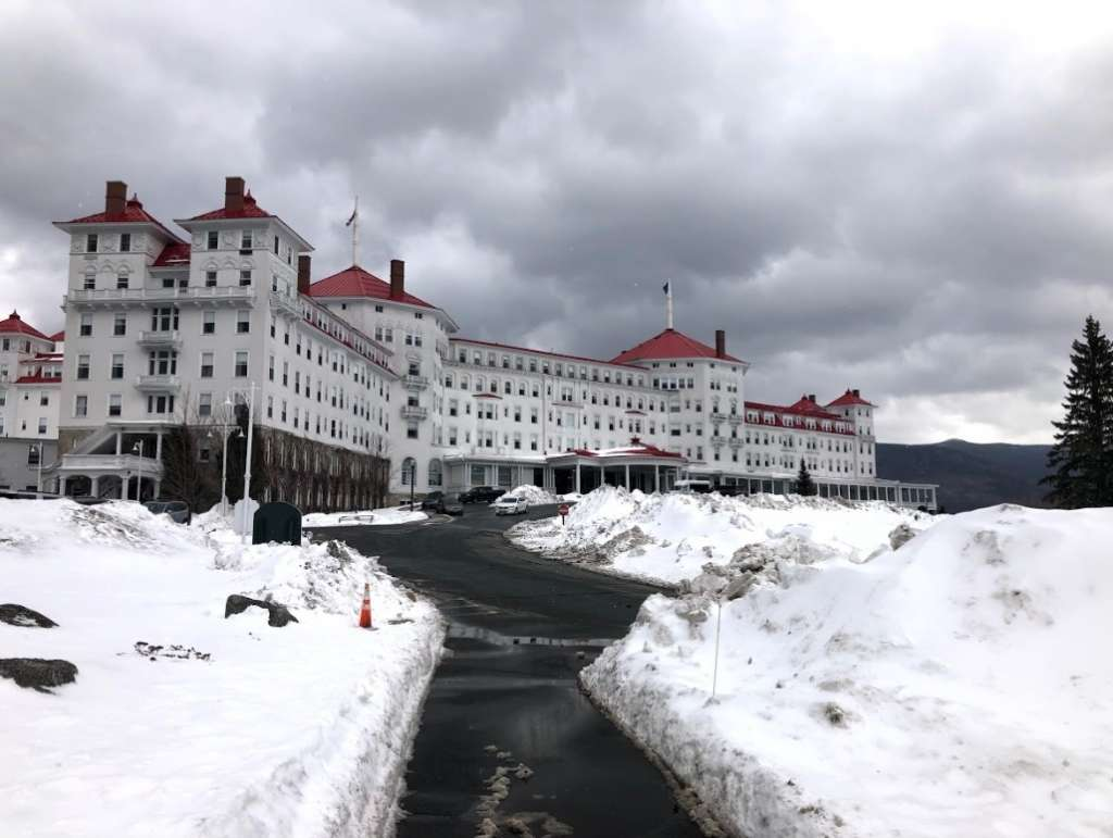 Winter Wonderland in Bretton Woods, New Hampshire 1