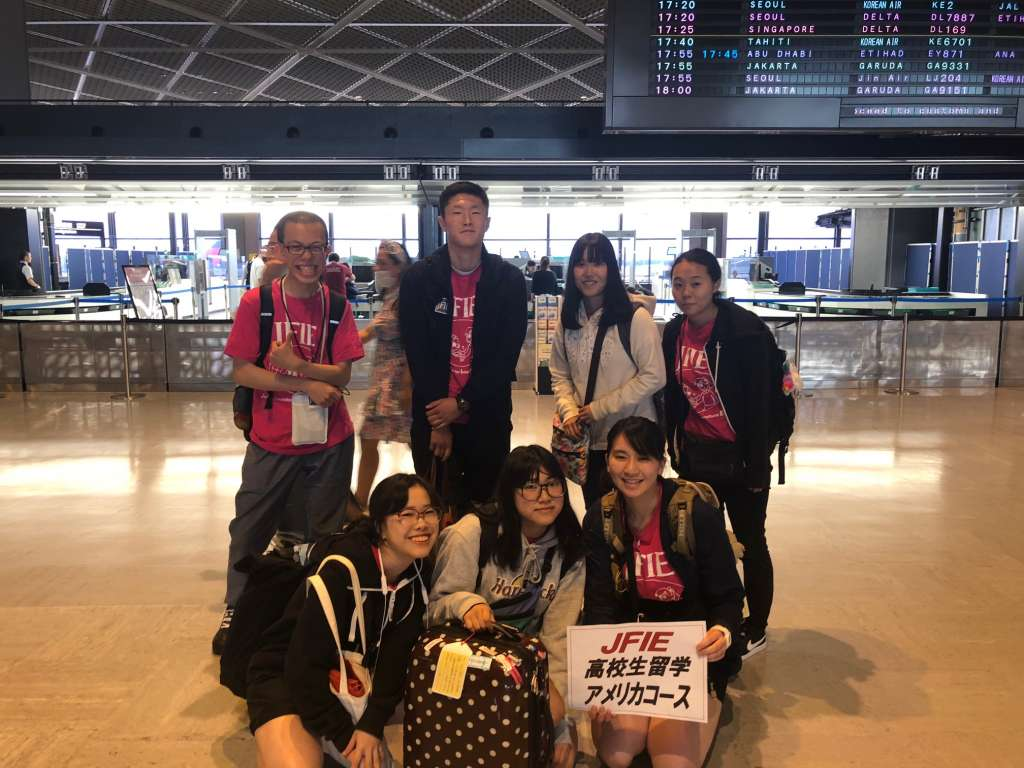 First Impressions of the U.S. From Japanese exchange Students 1