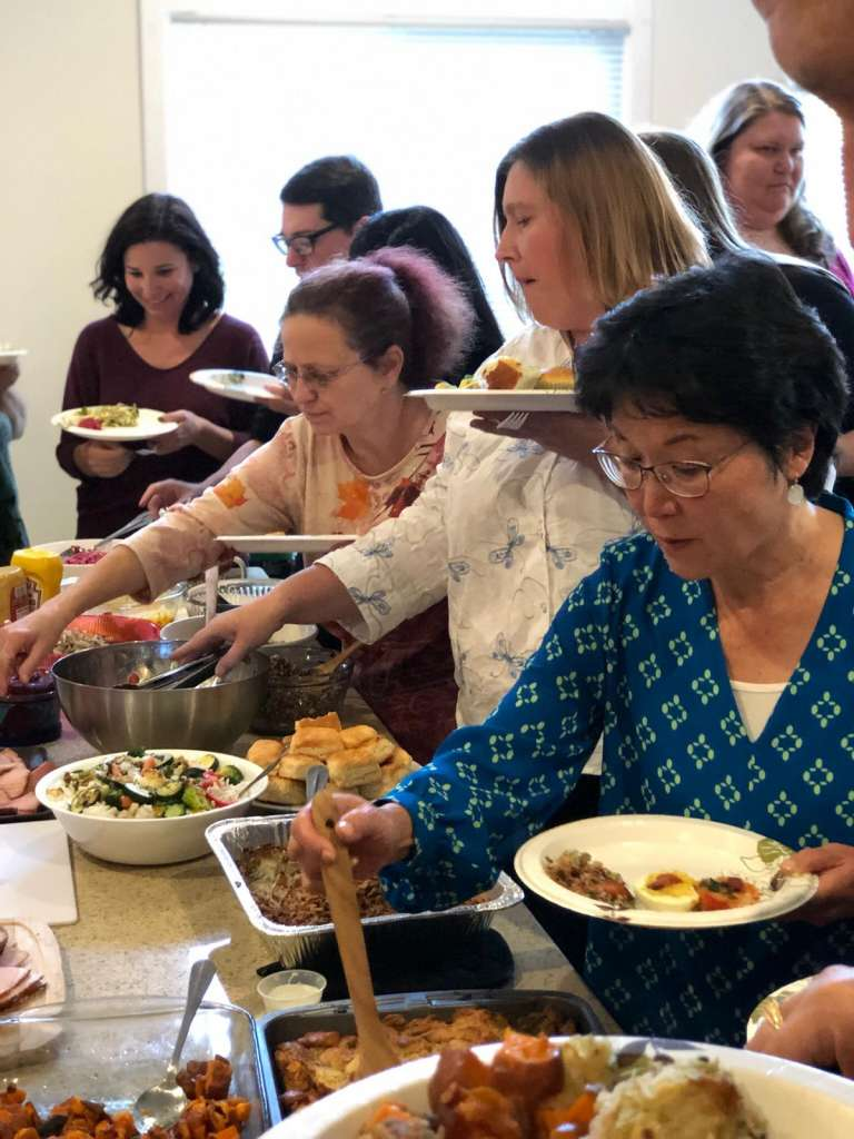 CHI Thanksgiving Lunch 9