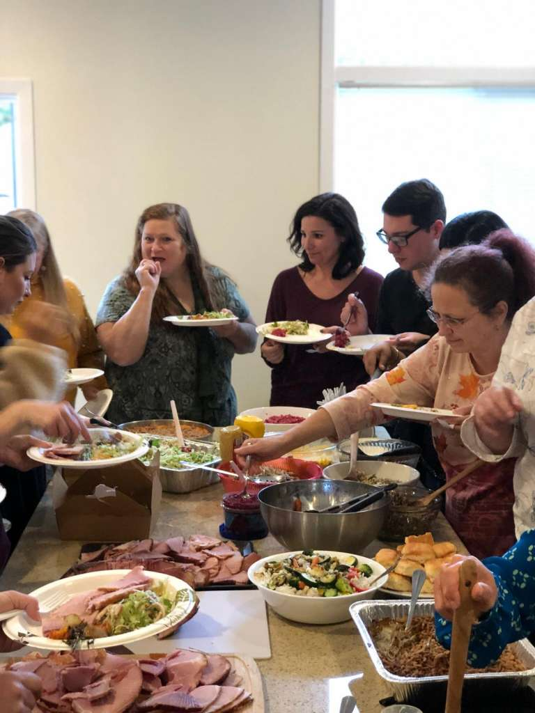 CHI Thanksgiving Lunch 11