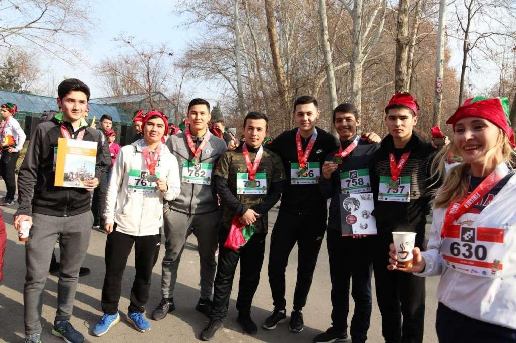 Charity Run in Uzbekistan 3