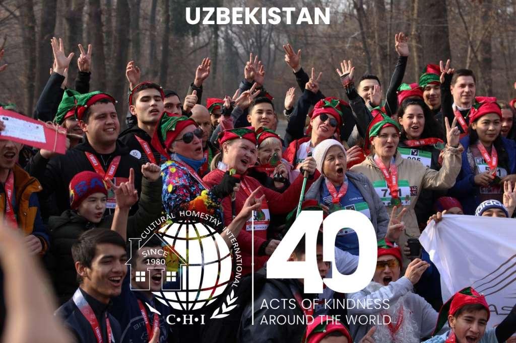 Charity Run in Uzbekistan 1