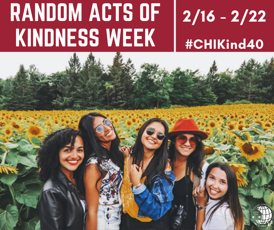 Celebrate Random Acts of Kindness Week 1
