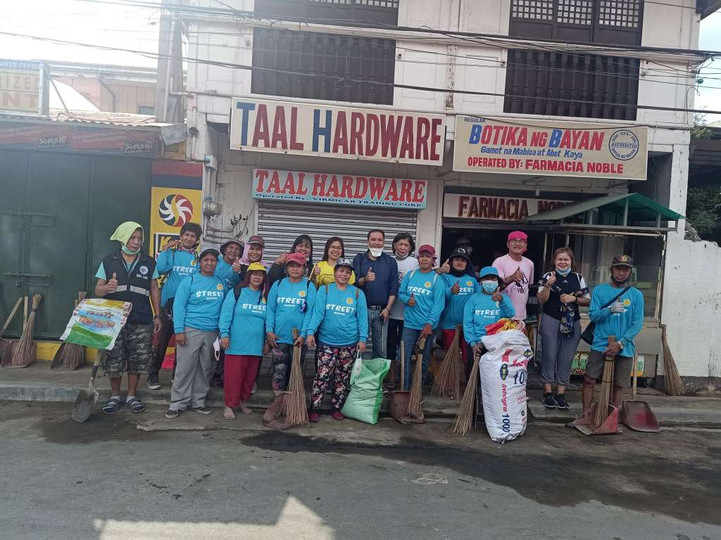 Volcano Ash Clean-up and Donations in the Philippines 5