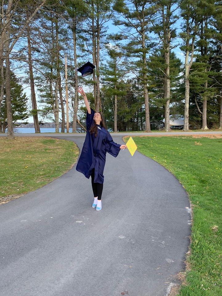 American Graduation During Quarantine 1