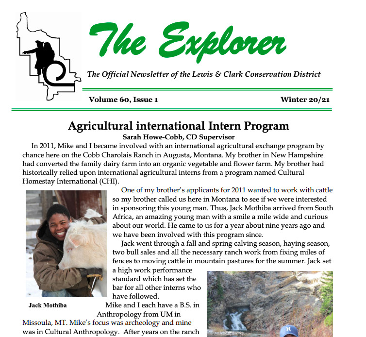 International Interns Bring Unique Views to Montana Family Ranch 1